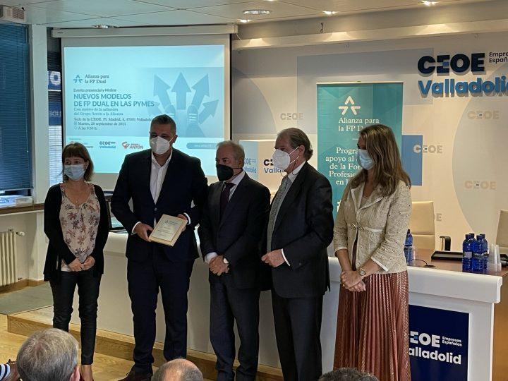 Grupo Antón participó ayer en la jornada 'Nuevos modelos de FP dual en las Pymes'