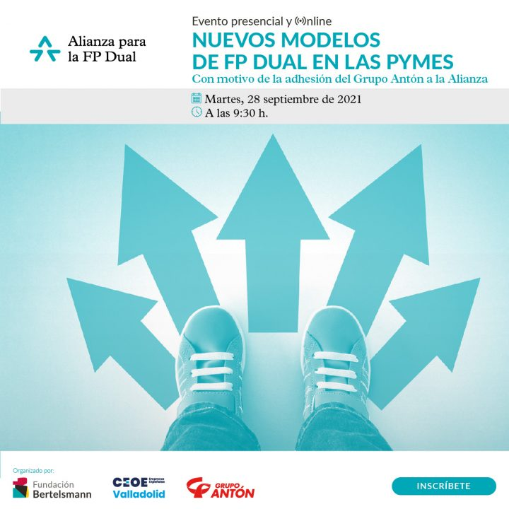Grupo Antón participa en la jornada 'Nuevos modelos de FP dual en las Pymes'